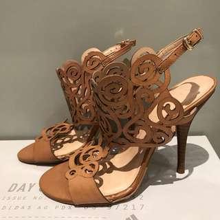 Brand new sandle with heels