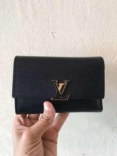 LV Capucines Compact Wallet