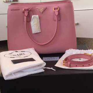 EVERYTHING MUST GO SALE!! Prada Saffiano Lux 100% Authentic