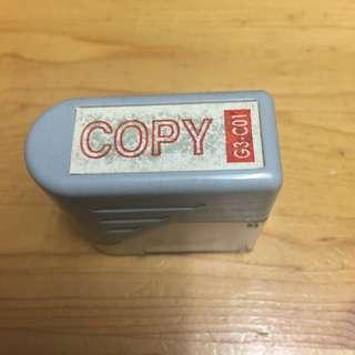 包平郵 只限郵寄 二手如圖 完美者勿買 原子印 色印 印仔 COPY 拷貝