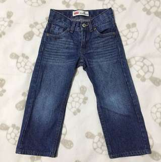 Levi's Relaxed Straight Denim Pants