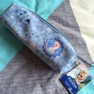 Disney Frozen pencil case, pencil & ruler