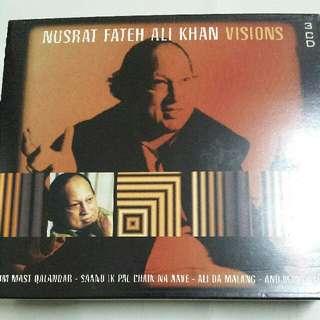 Music CD (3xCD): Nusrat Fateh Ali Khan -Visions