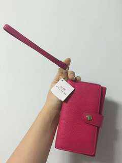 Coach Wallet & Phone Holder
