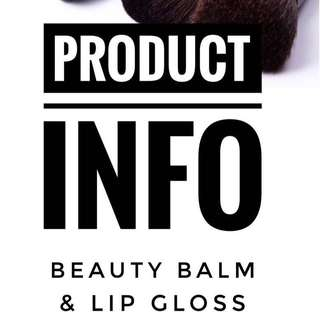 All Natural and Organic - Beauty Balm and Colour-changing Lip Gloss