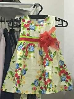 Flowery Dress for Toddler