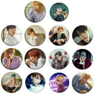 BTS EXO TWICE KPOP Button Badges