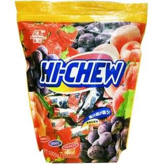 好市多森永嗨啾軟糖綜合經典水果口味 1公斤