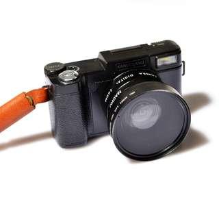 24mp selfie camera digital sd card nikon canon pentax vintage flip screen