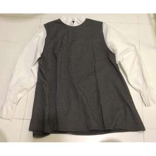 Korean Short Dress/ Long blouse