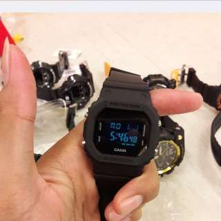 g shock gw 5600 full black casio