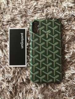 Goyard Phone Case Green