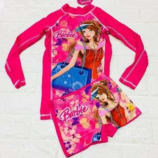 Girls branded rashguard