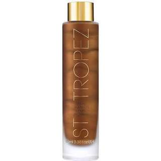 St tropez luxe dry tanning oil