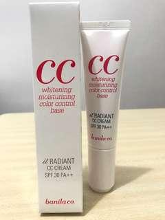 Banila Co It Radiant CC Cream 透亮保濕調色CC霜 SPF30/PA++