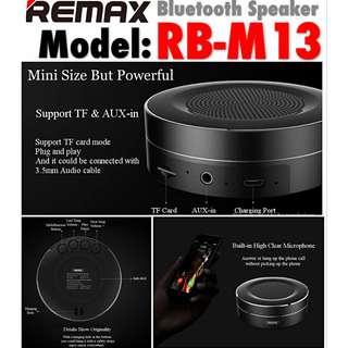 REMAX (RB-M13) Mini Bluetooth speaker
