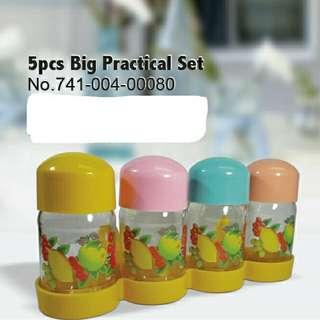 5pcs Big Practical Set