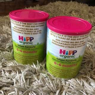 HIPP ORGANIC Infant Formula (0-6months) 400g