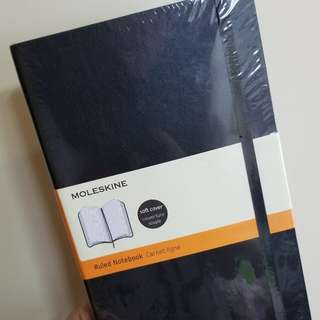 Moleskine Ruled Notebook (soft cover unopened)