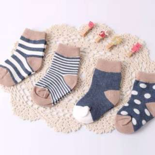 4 pairs cotton socks