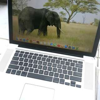 Macbook Pro Ram 4GB + HDD 320GB