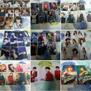 32期Yescard seventeen twice bts wanna one blackpink got7 wekimeki gugudan ikon exo red velvet tfboys iu suzy