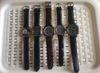 Bundle of 3 men's watches (read description!)