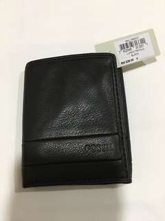 Fossil Men's Wallet lufkin black