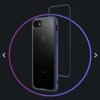 🚚 犀牛盾 Mod iphone8手機殼-靛藍色(加贈透明背板*1)