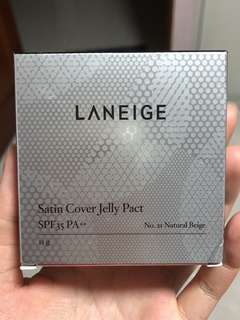 Laneige Satin Cover Jelly Pact  SPF35 PA++