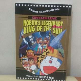 Komik doraemon (nobita's legendary king of the sun)