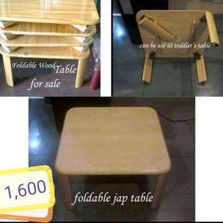 Foldable Table / Kids study table/ Japanese Table