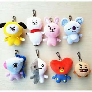 BT21 Cellphone Chain Offi (with BT21 tag)