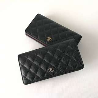 Authentic Chanel Classic Wallet