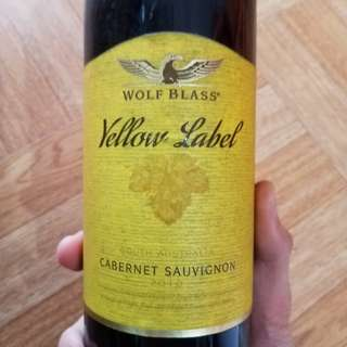 💯Wolf Blass Yellow Label Shiraz - Cabernet Sauvignon 2010