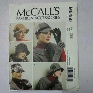 Mc call paper pattern