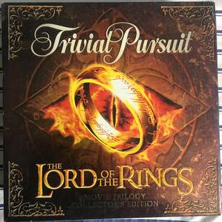 The Lord of the Rings Trivial Pursuit - Collector's Edition