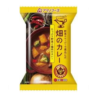 (全新訂購) 日本製造 AMANO FOODS 田園咖哩 蔬菜雞肉咖哩 37g (4 包裝)