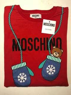 Moschino 紅色長䄂tee