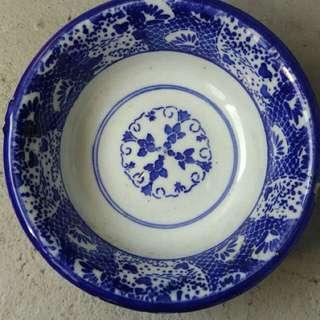 🚚 日本早期老青花碗