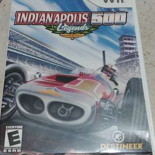 Wii Indianaplis 500 Legends