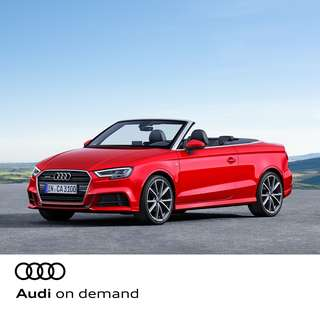 Audi on demand - A3 Cabriolet 1.4 TFSI