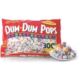 好市多DUM DUM 綜合口味棒棒糖 300入
