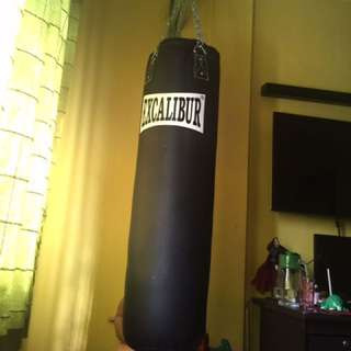 Excalibur 3.6 ft punching bag. orig price (2600)