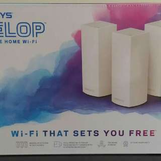 BNIB Linksys Velop Whole Home Wi-Fi System (Pack of 3) - FAST DEAL