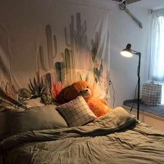 北歐芭蕉葉掛布 背景布 房間床頭裝飾#手滑買太多#我的家飾可超取#大掃除五折#換季五折