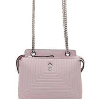 (100%New and Real )Fendi small dotcom shoulder bag baby pink