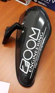 ZOOM Centre Mirror Carbon Fiber W/Blue Glass