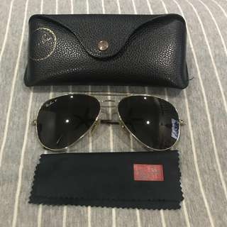Rayban Aviator Large Metal Polarized RB3025