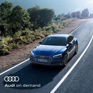 Audi on demand - A5 Sportback design 2.0 TFSI S tronic